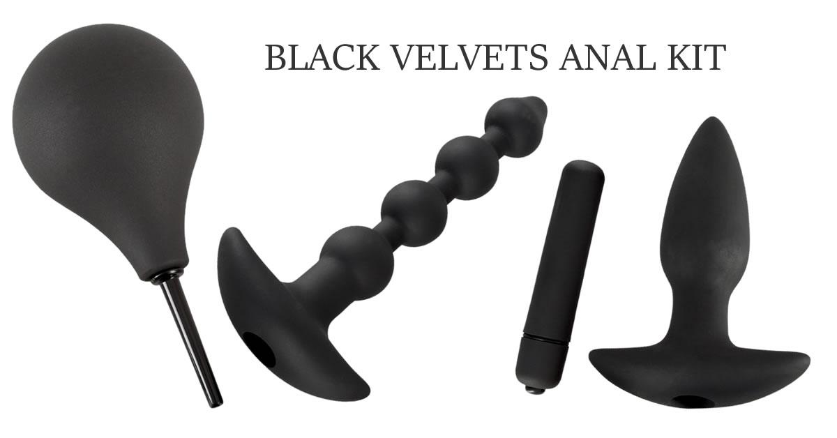 Black Velvets Anal Kit