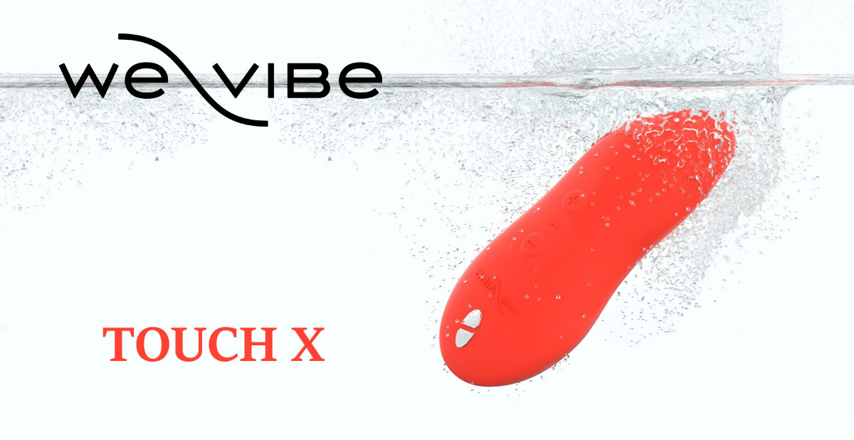 We Vibe Touch X waterproof clitoris stimulator