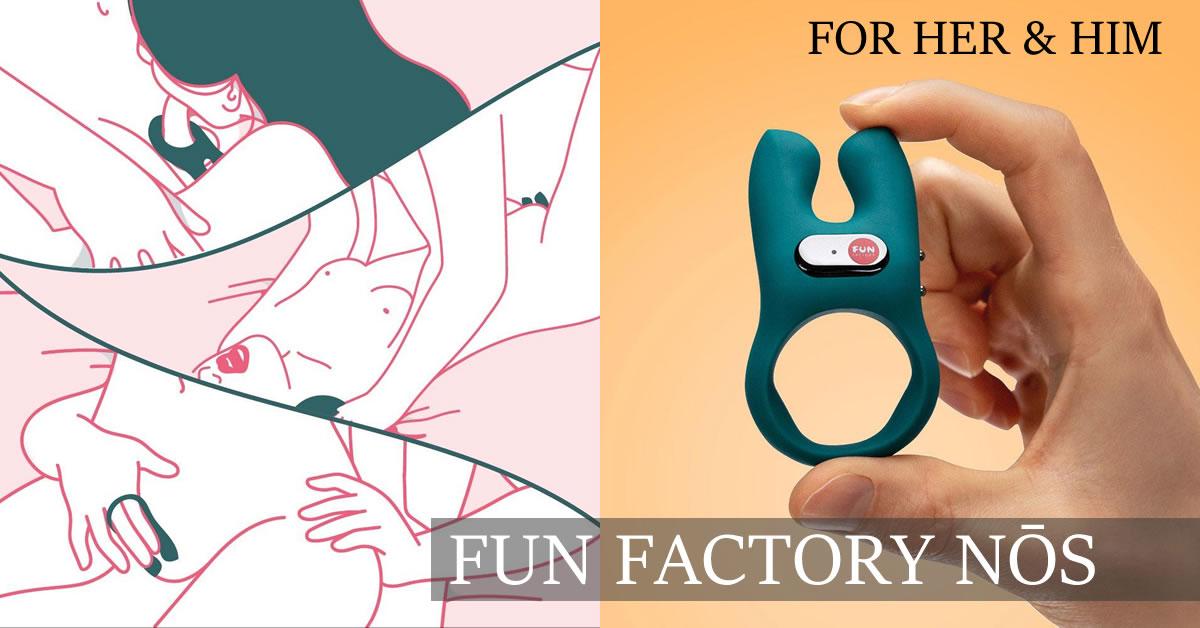 Fun Factory NOS Cock Ring with Vibrator