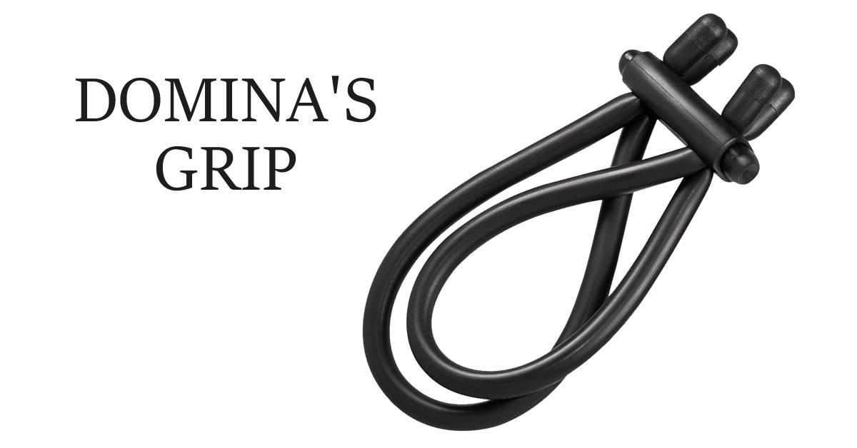 Dominas Grip Cock Ring and Erection Enhancer