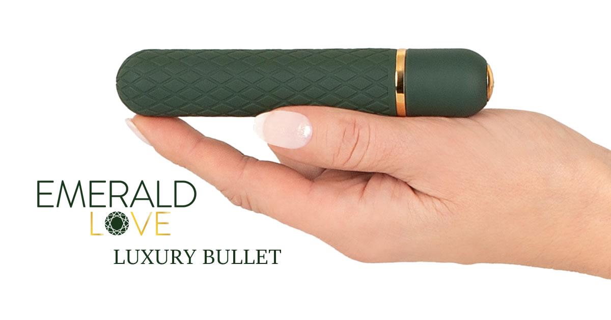 Emerald Love Luxurious Bullet Vibrator