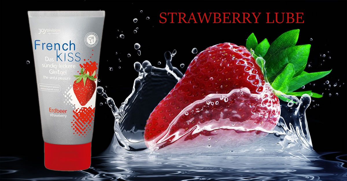 Frenchkiss Waterbased Lubricant with Strawberry Flavour