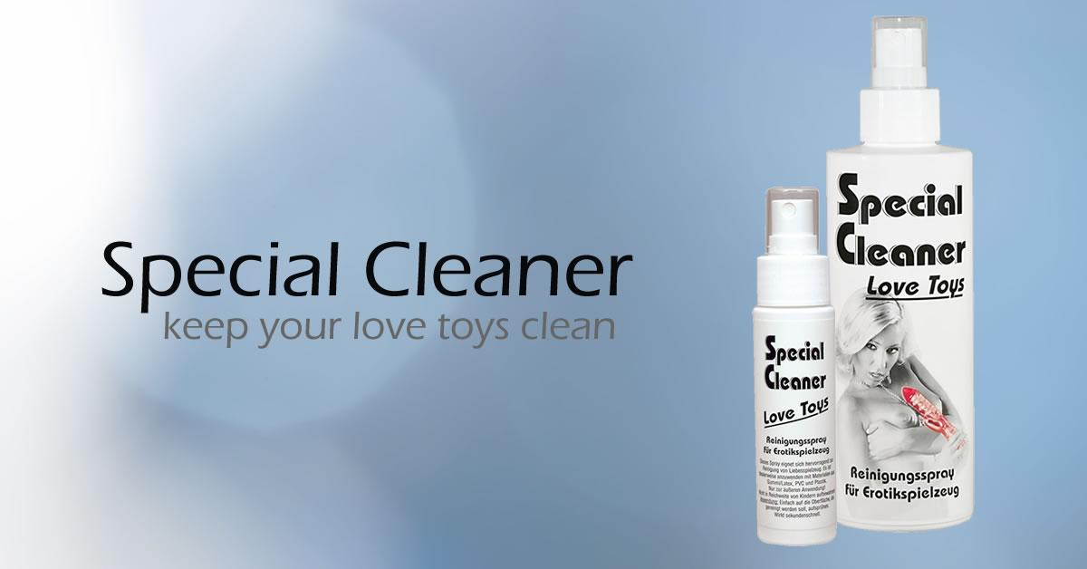 Special Cleaner Love Toys Rengøring af Sexlegetøj