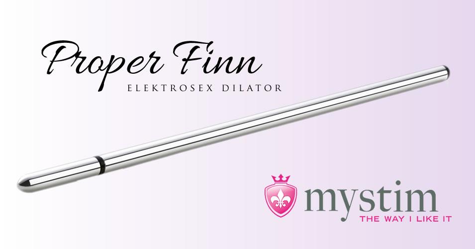 Mystim Proper Finn Dilator for Electrosex and E-stim