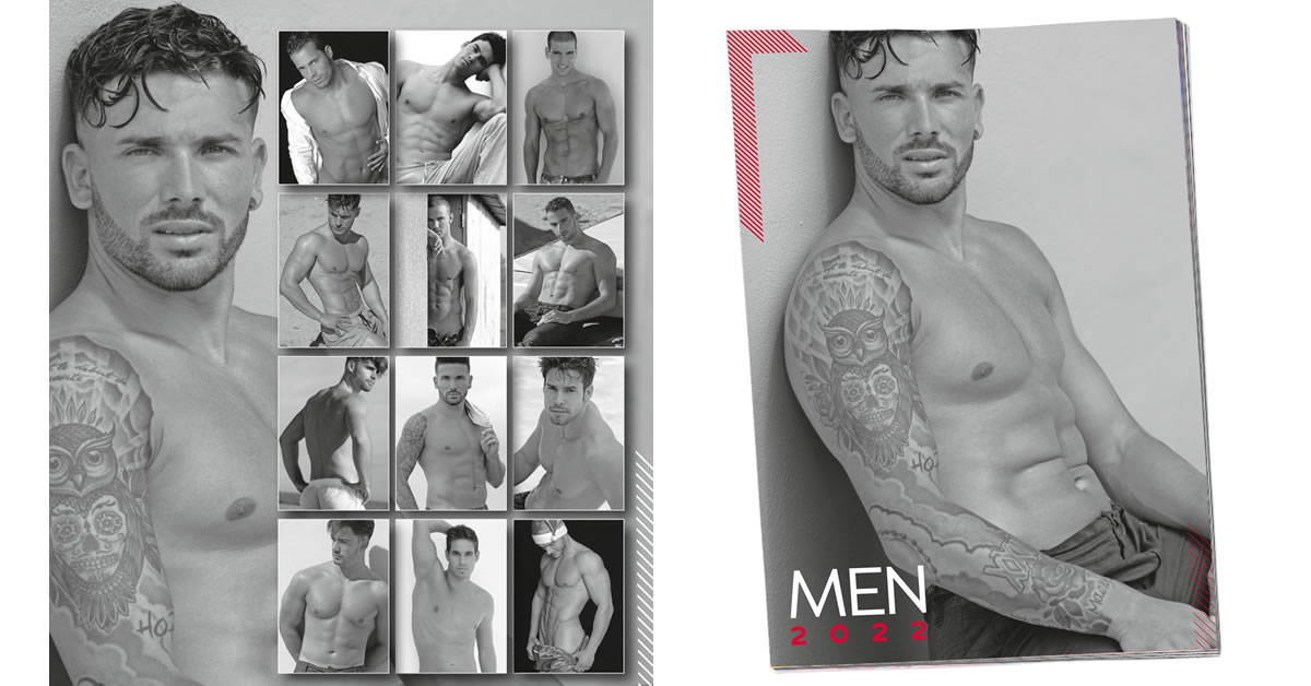 Pin-up Kalender Men 2019