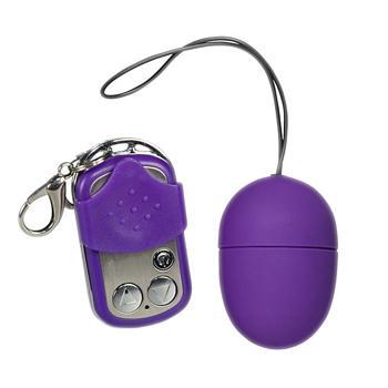 Purple & Silky Vibroei mit Fernbedienung