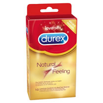 Allergivenlig Kondom Durex Natural Feeling