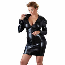 Plus Size Wetlook Kjole