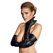 Leather Gloves Long