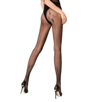 Passion Tights 109 with Shiny Seam