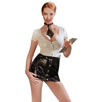 Vinyl Secretary Costume