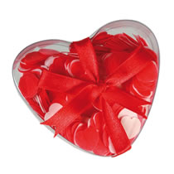 Badekonfetti med Hjerteform