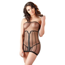 Nylon Lingerie Dress Transparent