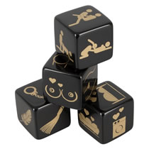 Erotic Dice Set pack of 4