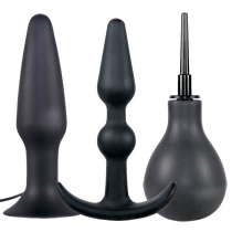 Anal Playbox 3-teiliges Analplug set