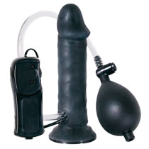 Temptation In Black - Aufblasbarer Vibrator