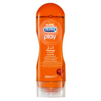 Durex Play Guarana 2-i-1 Massageolie & Glidecreme