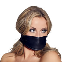 Zado Gag with Leather Facemask