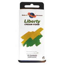 Worlds Best Liberty Cream-Form Kondom