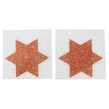 Nipple Covers med Glitter - Ekstra Store.