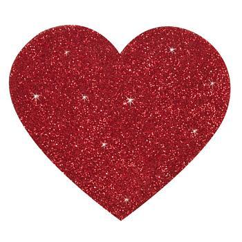 Titty Sticker Herz - Nippel aufkleber