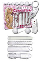 White Sensation Vibrator Multiset