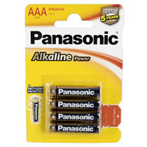 Panasonic AAA Alkaline Batteries