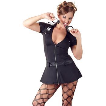 Frækkere end politiet tillader - Politi Kostume