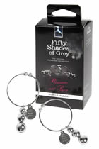 Pleasure and Pain Nipple Clamps - Fifty Shades of Grey