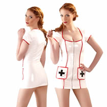 Sexy Nurse Vinyl Costume